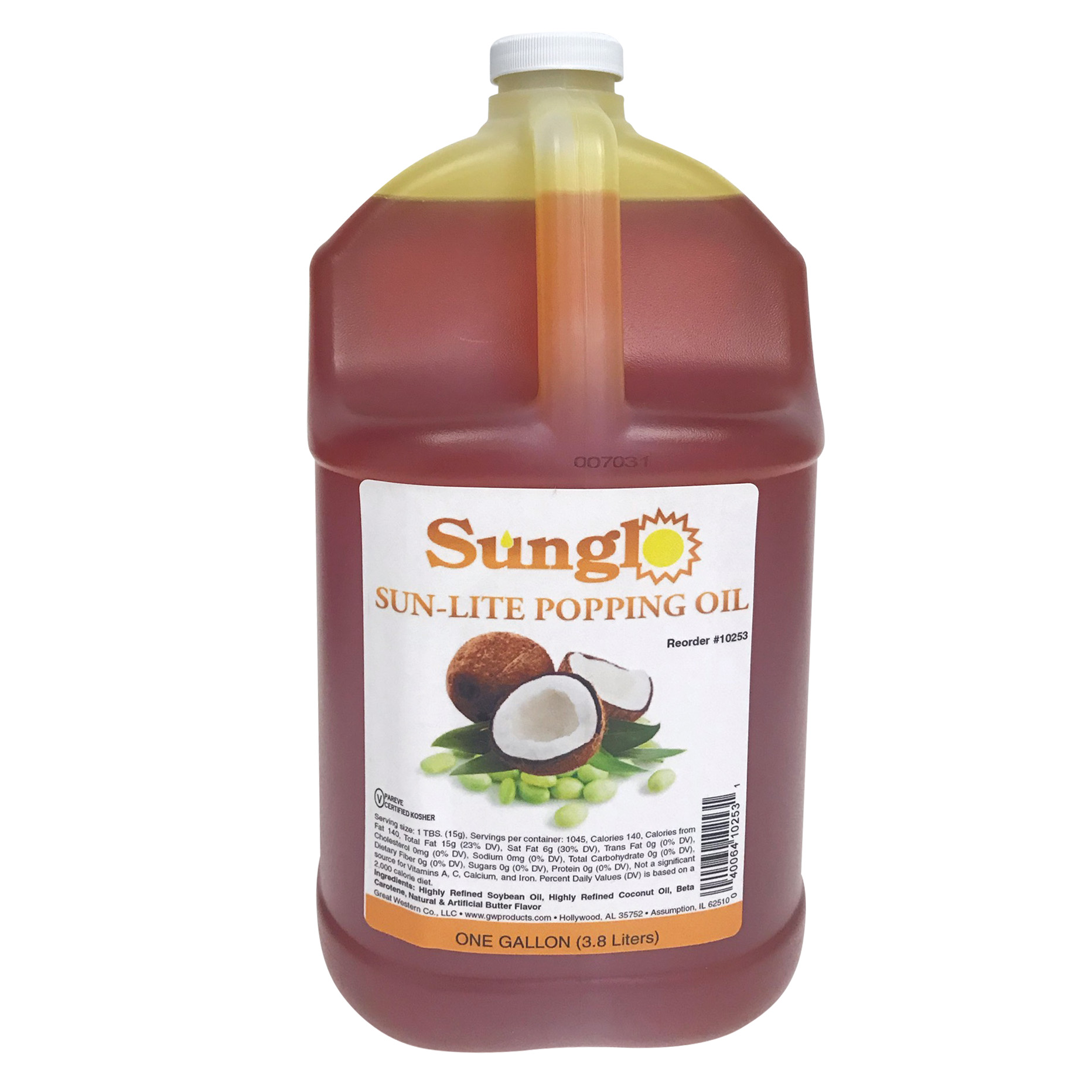 Sunglo Sun-Lite Popping Oil