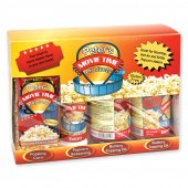 Peter's Movie Time Popcorn Gift Set 30 oz.